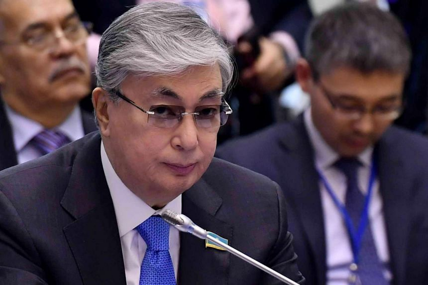 Senate chairman Kassym-Jomart Tokayev, 65, was Kazakhstan's second-in-command and is set to serve as president until fresh elections in April 2019.