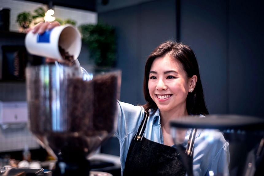Ms Alexandra Eu, co-owner of artisan coffee bar Mavrx at Great World City, says that a good cup of coffee always delivers on its promise – a great tasting, instantaneous boost to kick-start the day.