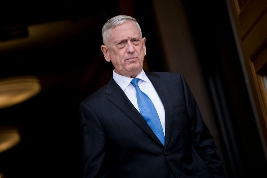 Mattis' (above) duties will include authoring research papers, participating in conferences on national security issues, and teaching.