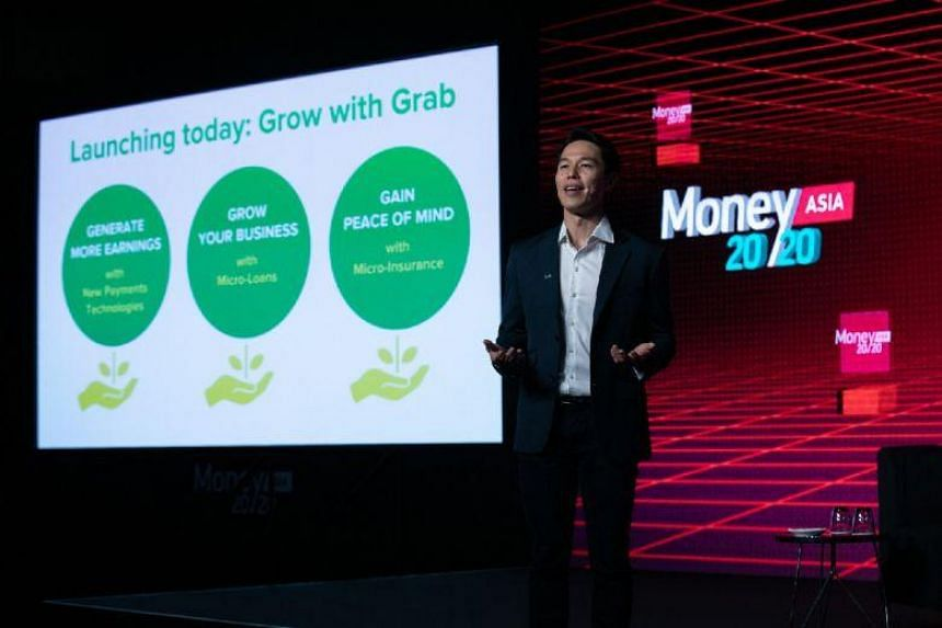 Grab Financial senior managing director Reuben Lai said at the Money 20/20 conference that the technology company will be rolling out an online checkout system for e-wallet GrabPay, credit services to customers and more insurance options for its driv