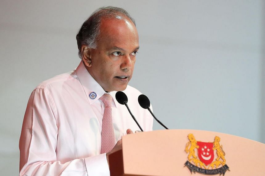 Home Affairs and Law Minister K. Shanmugam said that Singapore makes no apologies for its approach in tackling hate speech.
