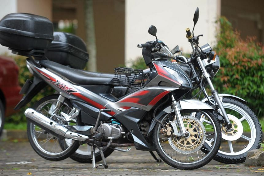 The writer says he has seen see many local and foreign motorbikes being ridden and parked indiscriminately on pavements on a daily basis.