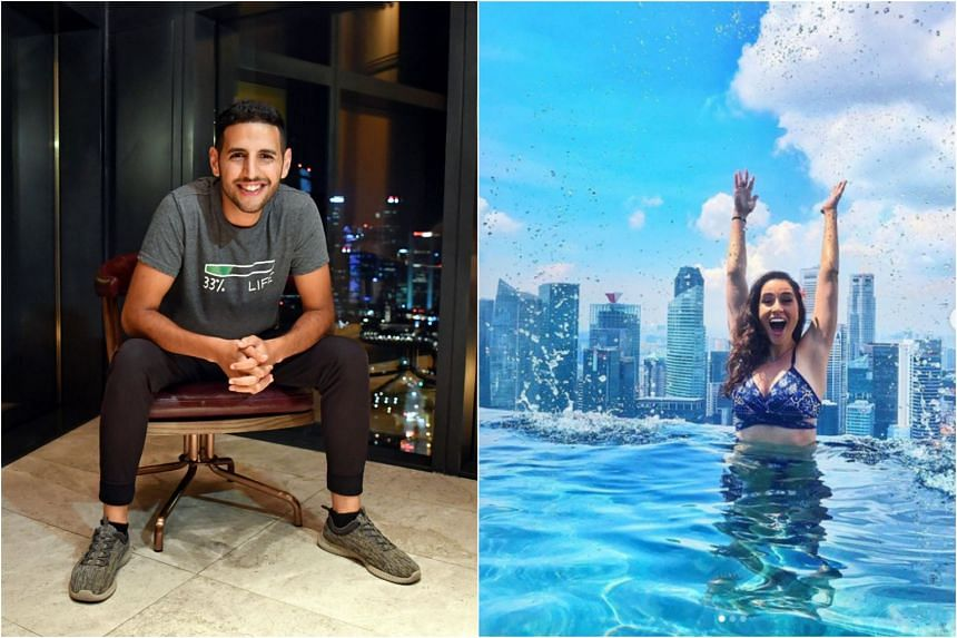 Popular video blogger Nuseir Yassin's girlfriend Alyne Tamir announced that she and Mr Yassin would be moving to Singapore in the near future.