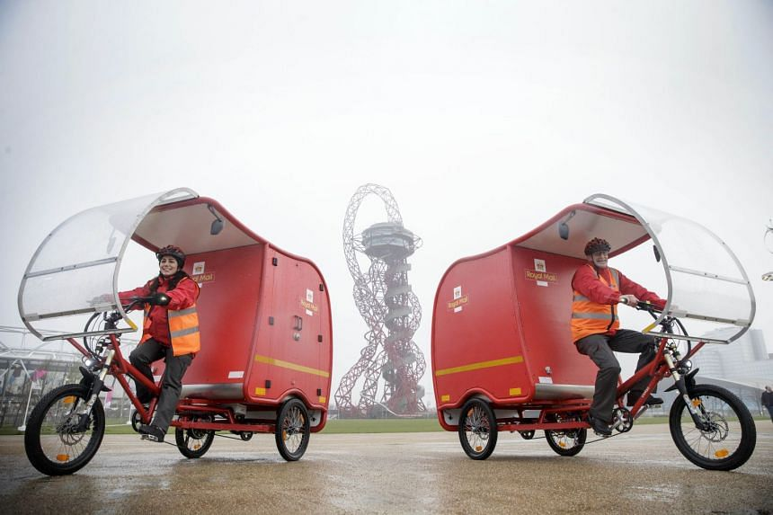 The zero-carbon emission, three-wheeled e-trikes are predominantly powered by a combination of solar, battery and brake technology. The Italian-made e-trikes - which also make use of pedal and brake technology to glide through the streets - will be a