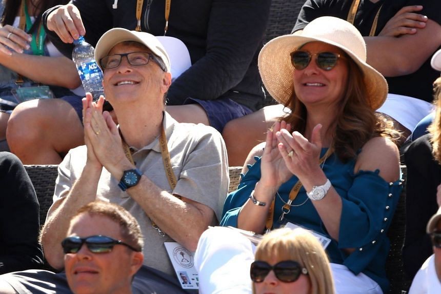 Microsoft co-founder Bill Gates' (pictured with wife Melinda) fortune is now US$100 billion on the nose. It may not stay this way, as he has donated more than US$35 billion to the Bill & Melinda Gates Foundation and said he intends to give away at le