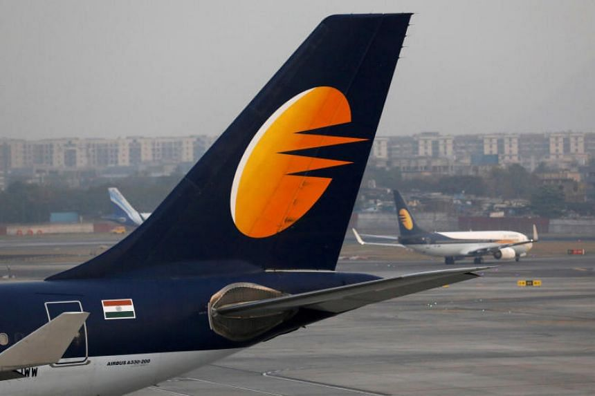 Jet, which employs more than 20,000 people, is gasping under debts of more than US$1 billion and has now been forced to ground a total of 78 of its 119 aircraft after failing to pay lenders and aircraft lessors.