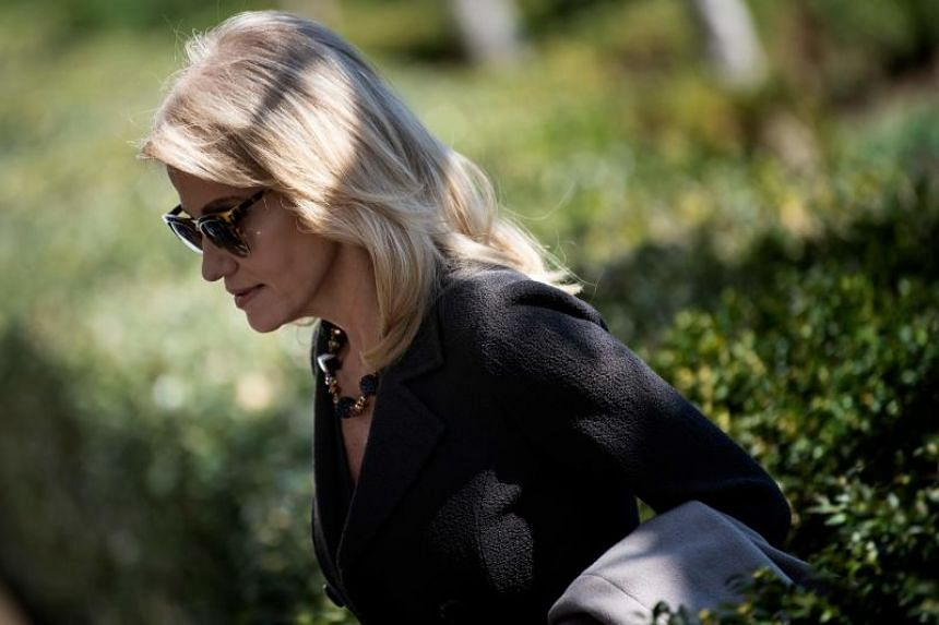 United States President Donald Trump on March 20 escalated his feud with George Conway, husband of White House counsellor Kellyanne Conway (above), in response to criticism and doubts about Trump's mental health.