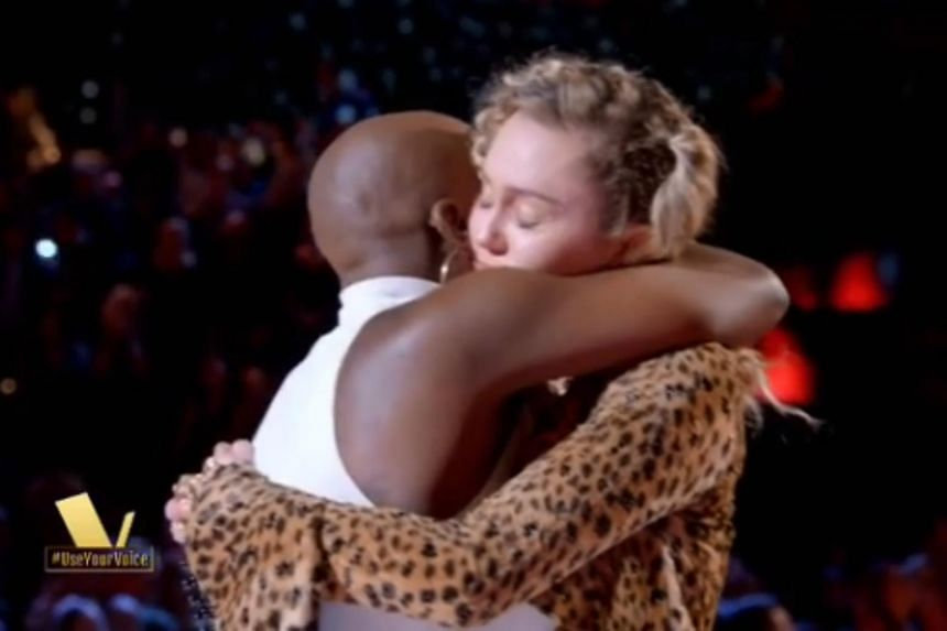Miley Cyrus was a coach for the late Janice Freeman, who was a participant in Season 13 of reality show The Voice.