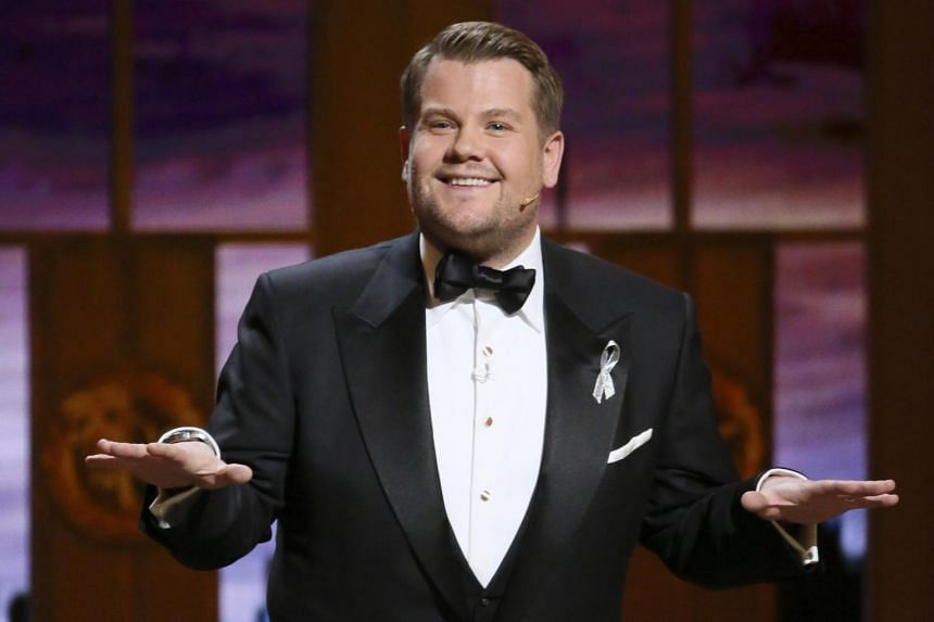 CBS announced that James Corden will host this year's ceremony from Radio City Music Hall in New York City. It will be the second time the English comedian has handled the gig.