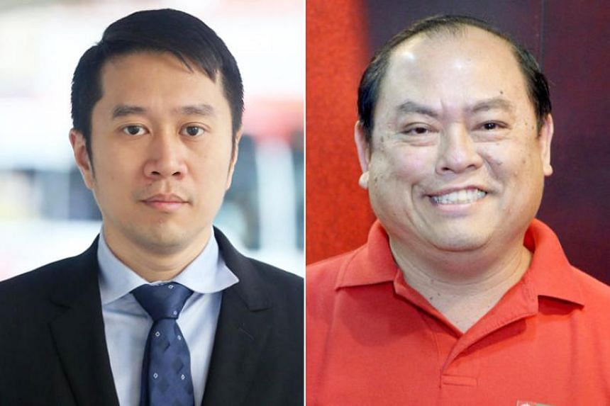 Jolovan Wham (left) and John Tan were the first to be charged under new contempt laws that took effect in October 2017.