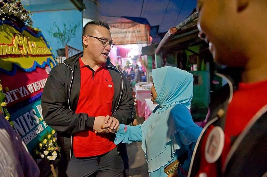 Mr Hardiyanto Kenneth, who is running in next month's legislative elections, says ideas, transparency and fairness will outweigh race and religion at the polls.