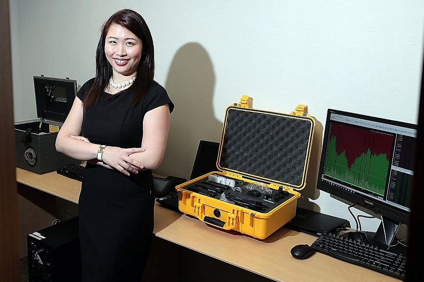 Ms Gillian Tan, the Monetary Authority of Singapore's Enforcement Department executive director, said the focus of the regulator's work is in ensuring that Singapore's financial centre has integrity, is clean and is trusted by investors. The 1Malaysi