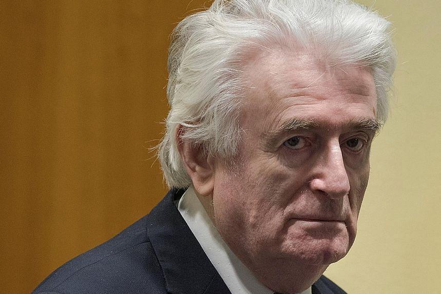 Radovan Karadzic's original 40-year jail sentence was deemed too light given the gravity of the crimes.