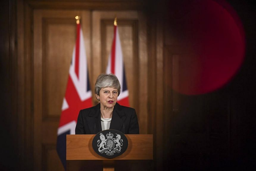 PM Theresa May asked the European Union to allow Britain to delay its departure date by three months to June 30.