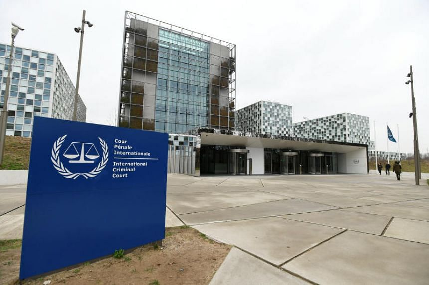 The International Criminal Court building in The Hague, Netherlands, on Jan 16, 2019.