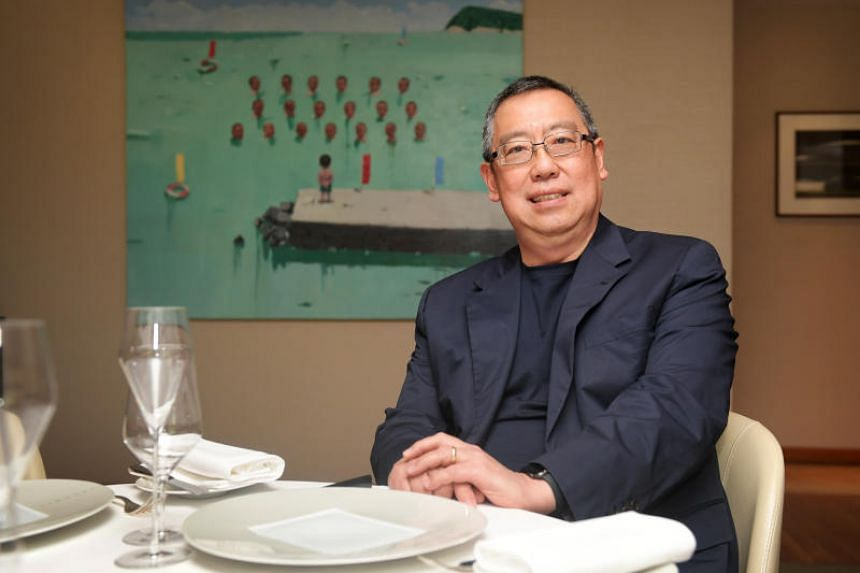 Les Amis' notoriously low-key chairman, Mr Desmond Lim, tells The Straits Times he thinks it is time to hire a chief executive to run the group.