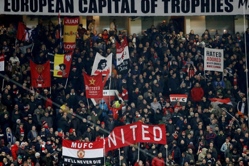 Manchester United, who were allocated 4,610 tickets for the second leg, were informed by Barcelona that the price for away fans at the Nou Camp would be £102 (S$180), reported as the most expensive ticket to a United game outside of a final.