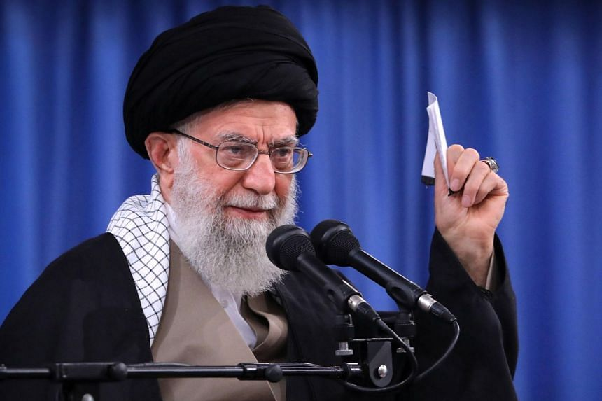 Iran's Supreme Leader Ayatollah Ali Khamenei said that the Islamic Republic successfully resisted the US sanctions, and called on the government to boost national production to face enemy pressures.