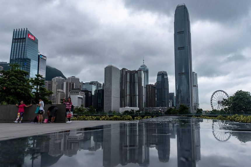 The skyline of Hong Kong's financial district. The city's Securities and Futures Commission has been investigating suspicious trading in China Ding Yi Feng Holdings Ltd since mid-2018.