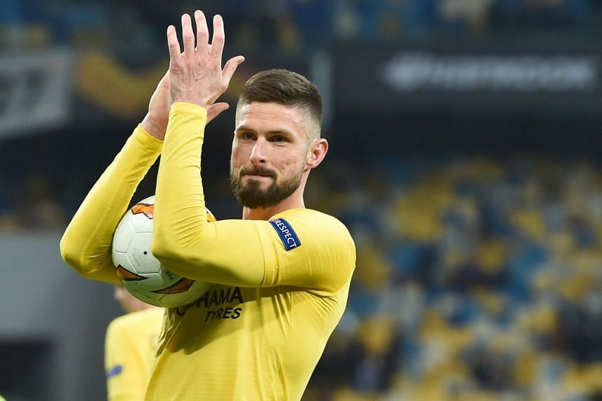 Olivier Giroud has not started a Premier League game for Chelsea since the club signed Argentina international striker Gonzalo Higuain in January.