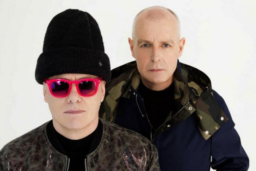 Super by the Pet Shop Boys is the pop duo's 13th consecutive top 10 studio album in Britain. Their concert in Singapore is on March 26.