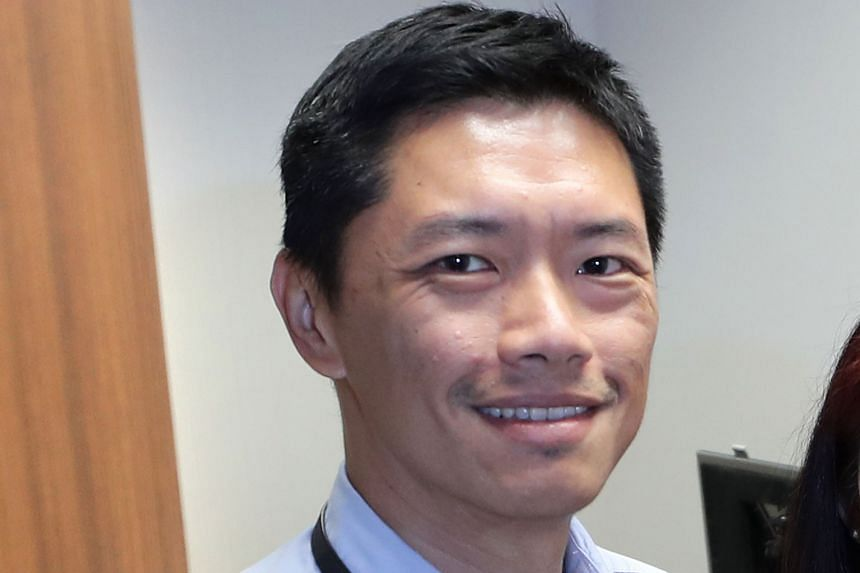 MR ERIC CHIA, who heads the market conduct investigations division in the Enforcement Department of MAS.