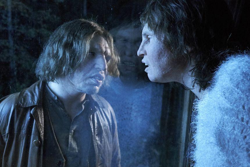 Border depicts the burgeoning romance between Vore (Eero Milonoff) and Tina (Eva Melander, both left), who share similar facial deformities.