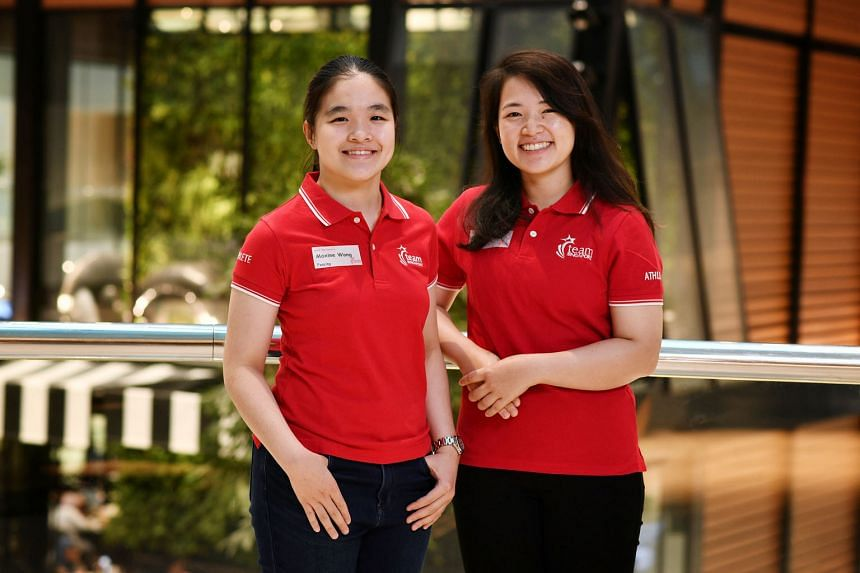 Fencer Maxine Wong (far left) and archer Contessa Loh are two of 19 new spexScholars, with a total of 73 recipients from 22 sports this year.