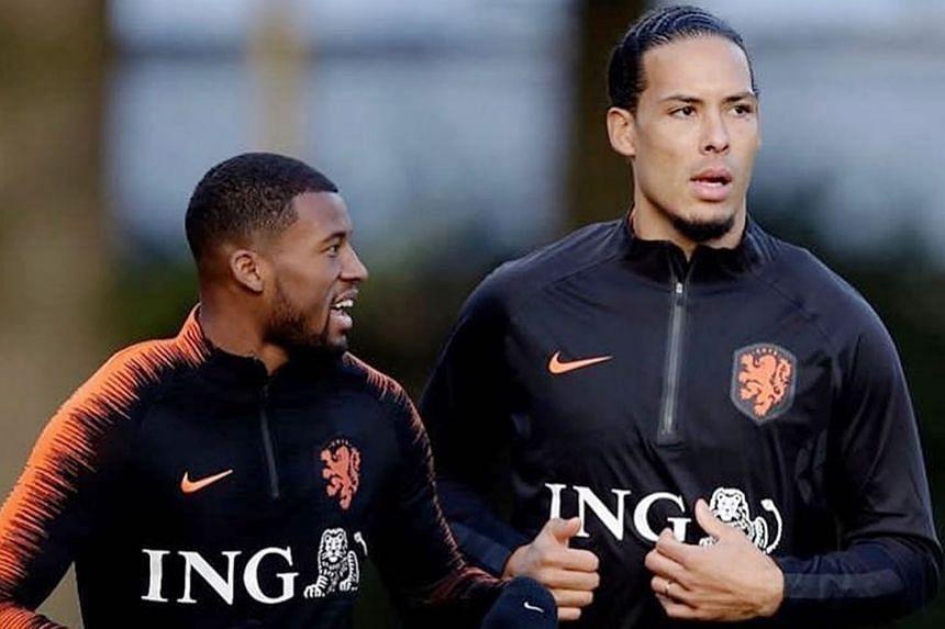 Netherlands coach Ronald Koeman has praised the likes of Virgil van Dijk and Gini Wijnaldum ahead of today's Belarus clash.