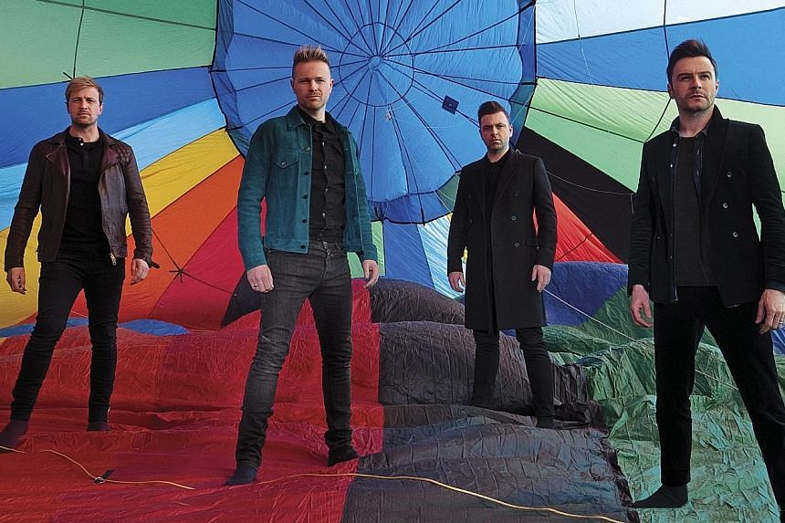 Irish boyband veterans Westlife will be in Singapore for a concert at the National Stadium on Aug 10.