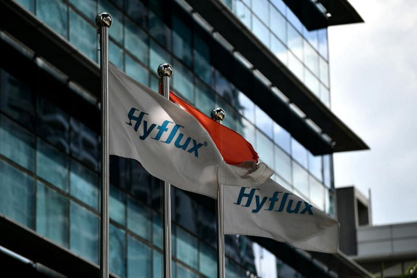 Hyflux's shares have been suspended since May last year pending a restructuring effort.
