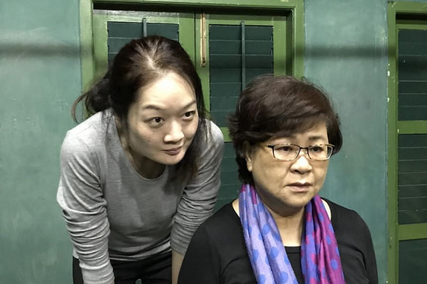 Lina Yu (left) and Liow Shi Suan in Always On My Mind.
