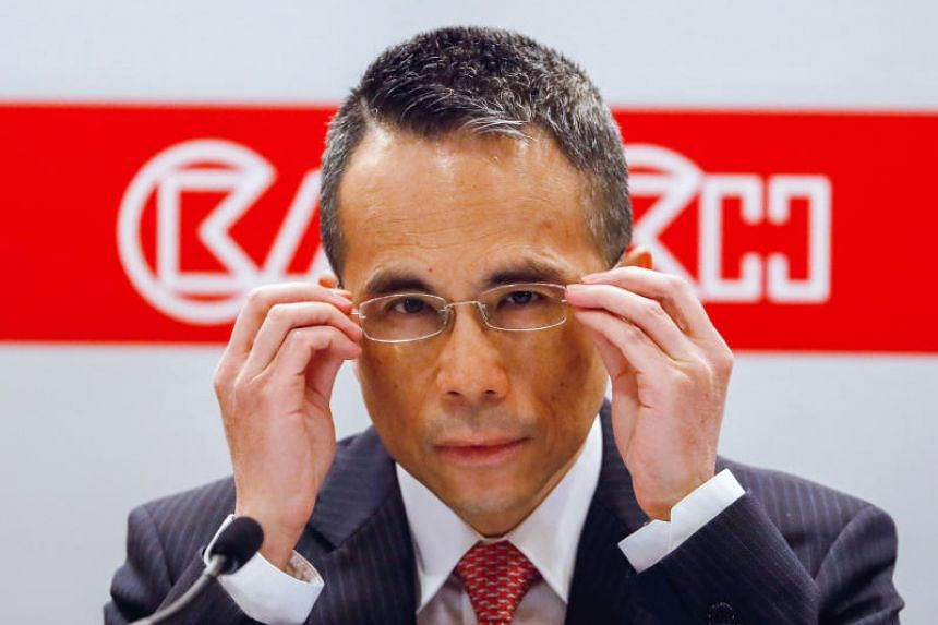 Victor Li, chairman of CK Hutchison, attending a news conference in Hong Kong, on March 21, 2019.