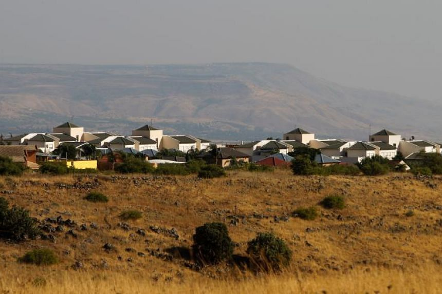 """The Jewish settlement of Qatzrin in the Israeli-occupied Golan Heights, a territory US President Donald Trump called """"of critical strategic and security importance to the State of Israel and Regional Stability!"""" in a tweet on March 21, 2019."""