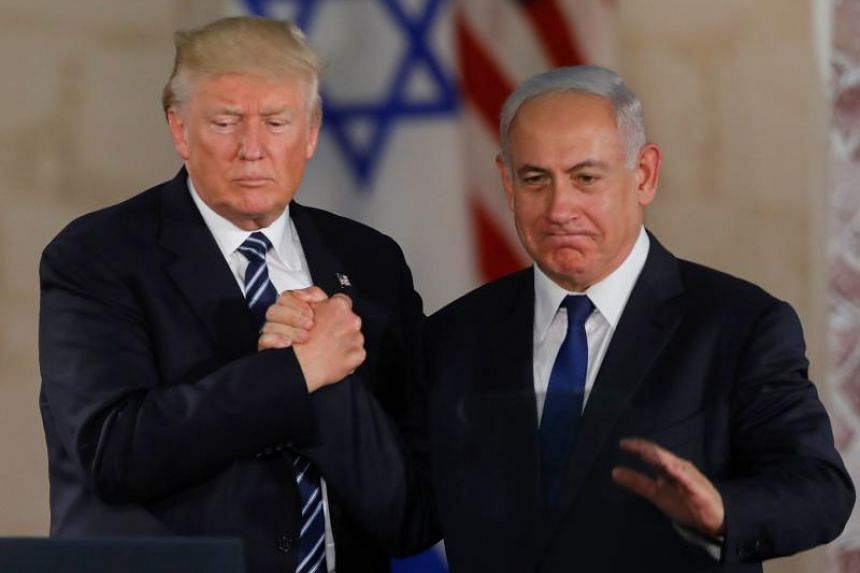 """Israeli Prime Minister Benjamin Netanyahu's office said that he spoke to US President Donald Trump by phone and thanked him personally for his decision, telling him: """"You made history."""""""