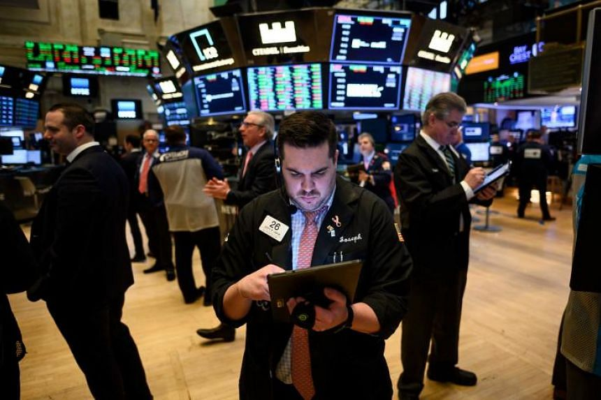 The Dow Jones Industrial Average rose 216.84 points, or 0.84 percent, to 25,962.51, the S&P 500 gained 30.65 points, or 1.09 per cent, to 2,854.88 and the Nasdaq Composite added 109.99 points, or 1.42 per cent, to 7,838.96.