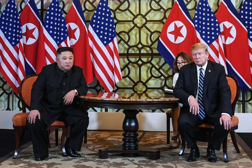 Washington announced the measures three weeks after a second meeting between Mr Trump and Mr Kim broke down over conflicting demands by North Korea for relief from sanctions and from the US side for North Korea to give up its nuclear weapons.