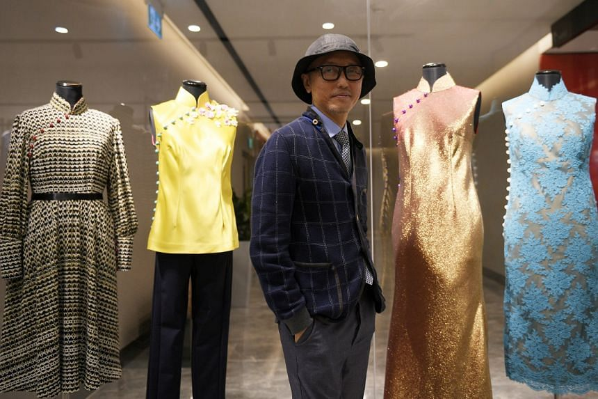 Couturier Goh Lai Chan, who has been designing clothes for almost 30 years, says his loyal customers are his biggest motivators.
