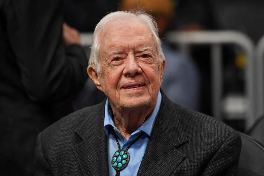 Former Us President Jimmy Carter Becomes Longest Living American Leader In History United States News Top Stories The Straits Times