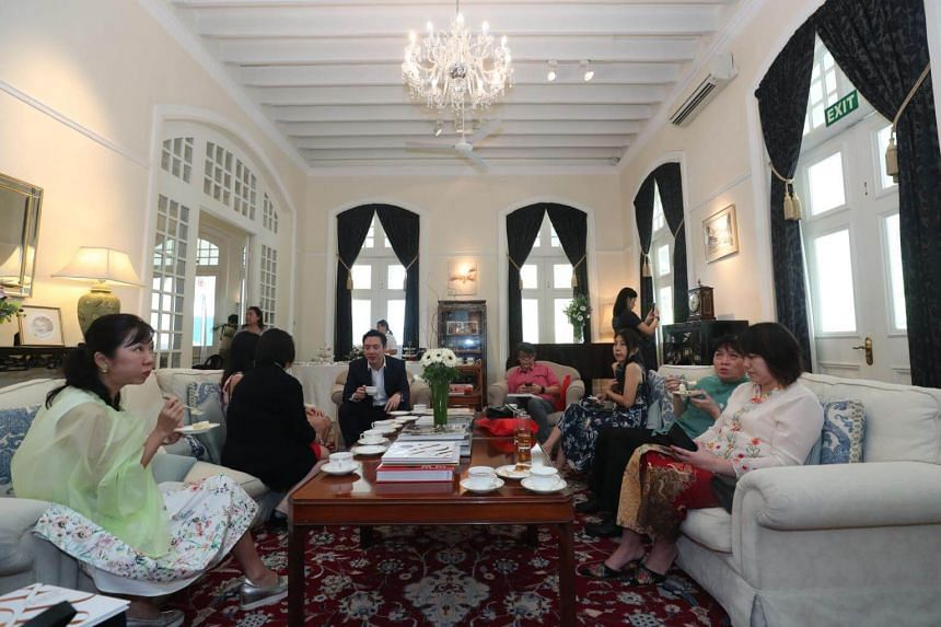 ST subscribers tour Eden Hall, official residence of the British High Commissioner