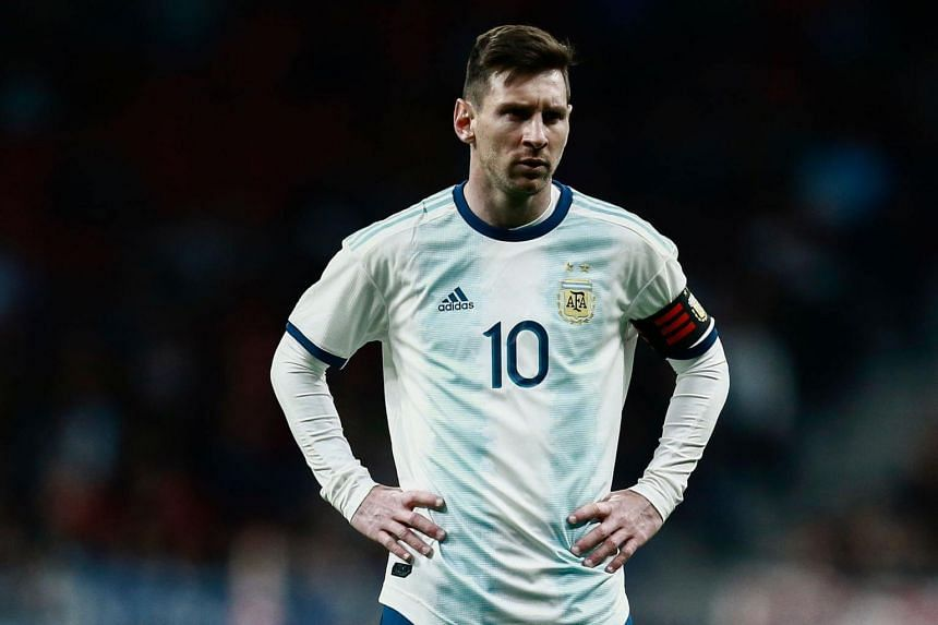 It was not clear whether the injury could also endanger Messi's participation in Barcelona's upcoming Champions League quarter-finals against Manchester United.