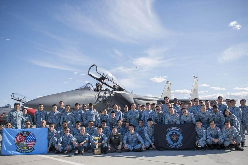 The RSAF clinched the Outstanding Aircraft Maintenance Unit award at this year's Exercise Red Flag-Nellis in the US.