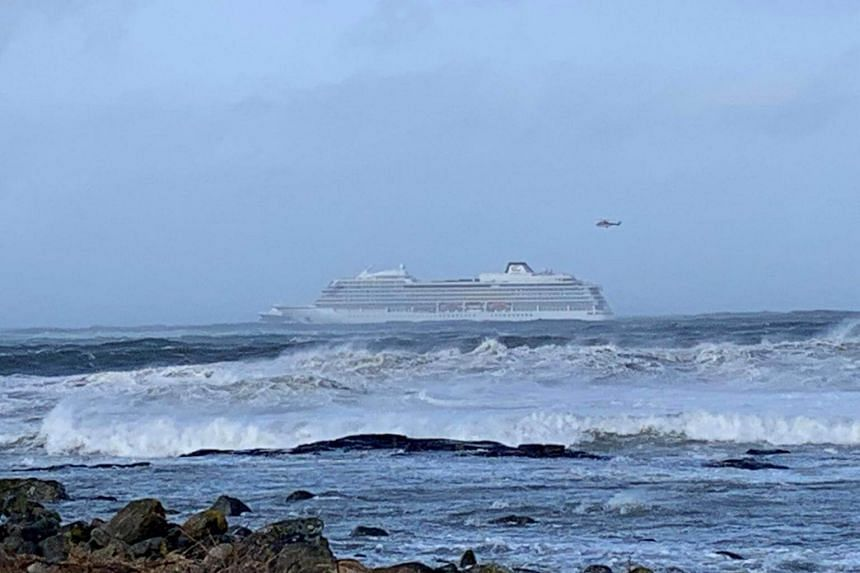 Cruise ship Viking Sky was drifting towards land and had sent out a mayday signal.