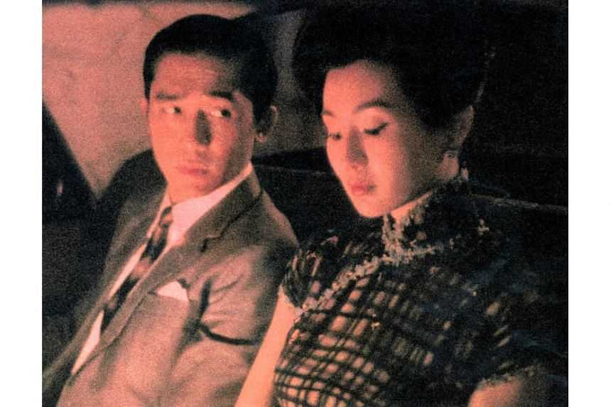 Wong Kar-wai said the new movie is linked to his ground-breaking In The Mood For Love (pictured) and 2046.