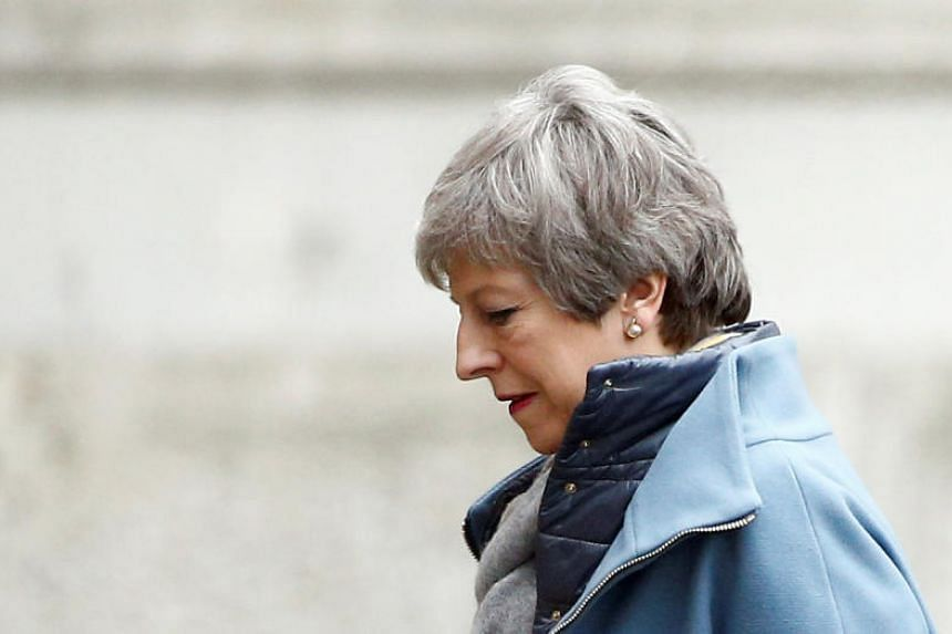 British Prime Minister Theresa May's Brexit deal has already been twice rejected by lawmakers but the prime minister was expected to try a third time next week.