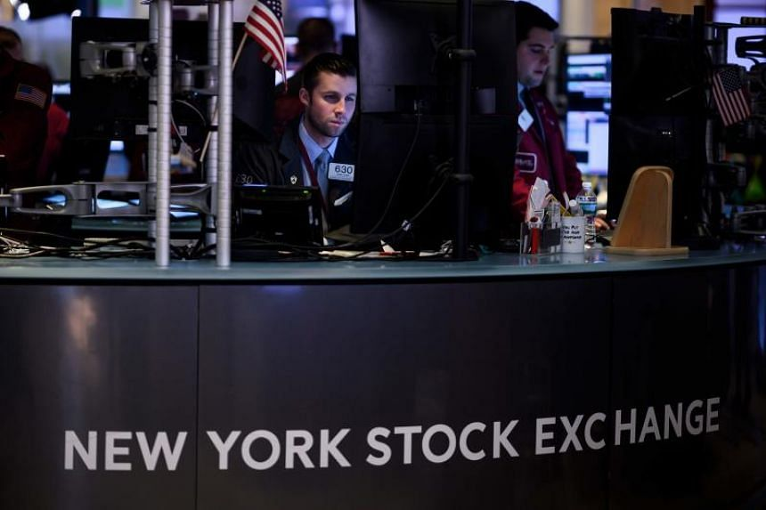 At 12:44 p.m. ET the Dow Jones Industrial Average was down 449.97 points, or 1.73 per cent, at 25,512.54. The S&P 500 was down 52.68 points, or 1.85 per cent, at 2,802.20 and the Nasdaq Composite was down 175.96 points, or 2.24 per cent, at 7,663.00.