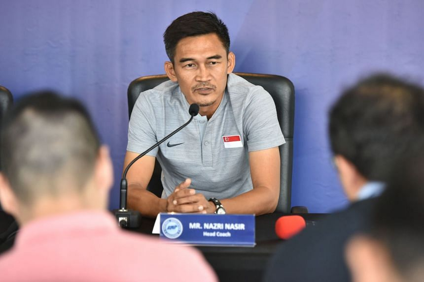 FAS caretaker head coach Nazri Nasir, announcing the national team's participation in the AirMarine Cup, says they will continue their attacking strategy in the final against Oman after beating Malaysia on March 20.