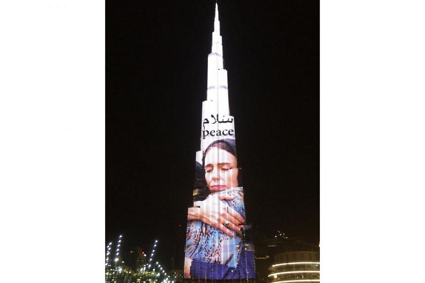 An image of the building was tweeted by Sheik Mohammed, Prime Minister and Vice-President of the UAE, and ruler of the emirate of Dubai.