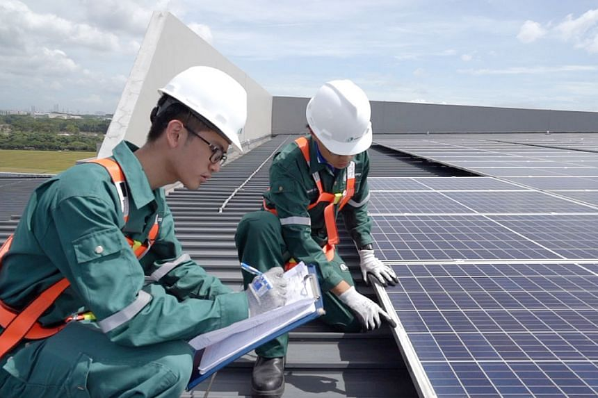 Around 8,000 solar panels are expected to generate about 3,400 megawatt hours of electricity a year - enough to power 770 four-room Housing Board flats for a year. They will provide renewable energy for YCH's Supply Chain City and its tenants.