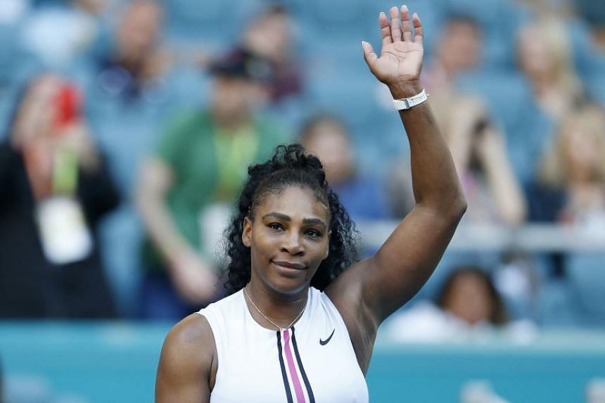 Serena Williams, who pulled out with a left knee injury, was next scheduled to face 18th-seeded Wang Qiang, who advances to the fourth round by walkover.